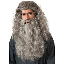 the hobbit an unexpected journey gandalf wig and beard costume