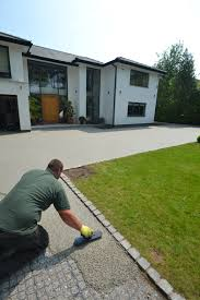 Pea Gravel And Epoxy Patio by Resin Bound Driveways A Permeable Solution Driveways Garages