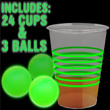 glow in the cups glow in the pong party pack
