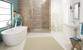 kohler bathroom ideas decorative wall in shower cabin with glass wal without frame and