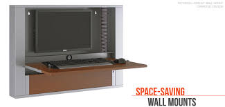 Wall Mount Computer Desk Wall Mounts American Furniture Systems