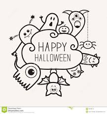 happy halloween free clip art happy halloween countour outline doodle ghost bat pumpkin