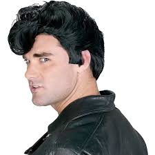 everett spirit halloween amazon com dannys grease costume wig std clothing
