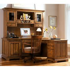 Computer Hutch Desk With Doors by Furniture Rustic L Shaped Computer Desk With Glass Hutch Cabinet