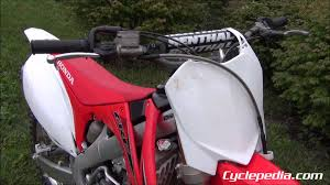 2012 honda crf250r online repair manual by cyclepedia youtube