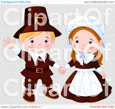 cute thanksgiving background clipart cute thanksgiving pilgrims royalty free vector