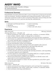 Resume For Shoe Sales Associate Best Sales Associate Resumes In Chandler Arizona Resumehelp