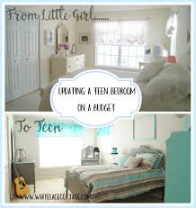 how to update a teen bedroom on a budget white lace cottage updating a teen bedroom on a budget2