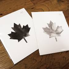 maple leaf print u2013 the paperie by katie williams