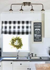 Black And White Checkered Curtains Beautiful Black And White Checkered Kitchen Curtains