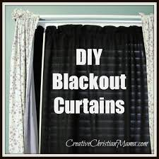 Easy Blackout Curtains Easy Diy Blackout Curtains Oh Baby Diy Blackout