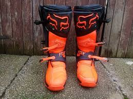 motocross boots 8 fox comp 8 motocross boots in troon south ayrshire gumtree