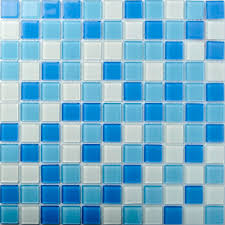 tst crystal glass tiles blue glass mosaic tile iridescent sea