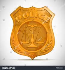 vector police badge stock vector 106549235 shutterstock