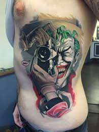 brilliant joker tattoo more than just gotham u0027s nemesis