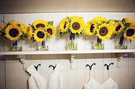 Sunflower Wedding Bouquet Matt And Kristy U0027s Sunflower Wedding The U0027real U0027 Photos U2013 Sage Flowers