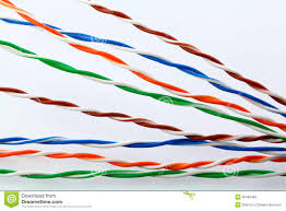 muti color electronic wire stock image image of electronics