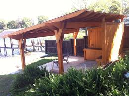 Pergola Designs With Roof by Cypress Pergola With A Metal Roof Designed And Built By Finewood