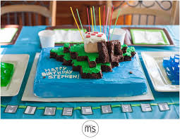 minecraft ribbon how to throw a minecraft themed birthday party diy margarette