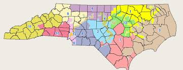 redistricting in carolina congressional and state