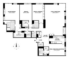 4 bedroom apartment nyc 4 bedroom apt floorplan museum tower nyc jpg 628 538 flats