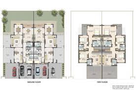 100 ground floor and first floor plan chasewood peatmoor