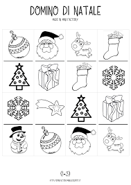christmas domino free printables stampabili gratis giochi di