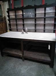butcher blocks counters and work benches cottage treasures 75 1 2h x 78 5 8w x 32 1 2d