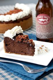 bacon stout chocolate cheesecake tide and thymetide and thyme