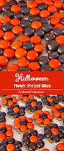 halloween flower pretzel bites two sisters crafting
