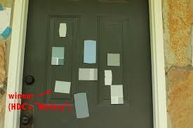 How To Paint An Interior Door How To Paint An Exterior Door As In Shut The Front Door