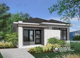 modern style house plans w1704 bh small and affordable modern style house ideal for