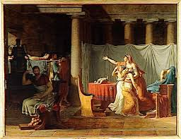 comment cr馥r une chambre dans un salon jacques louis david the lictors returning to brutus the bodies of