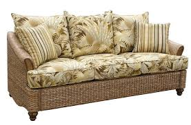 rattan sleeper sofa plantation indoor wicker and rattan sleeper sofa sleeper