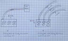 electrical how do i wire three 3 way switches in one gang box to