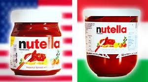 Growing Up Italian Australian Memes - italian vs american nutella taste test youtube