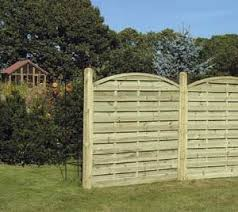Curved Trellis Fence Panels Garden Fencing Timber Fence Panels Dublin Wicklow Abwood