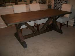 Farmhouse Table by Ana White Fancy X Farmhouse Table Modified Diy Projects