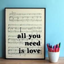 Mirror On The Wall Lyrics Best 25 Framed Sheet Music Ideas On Pinterest Sheet Music