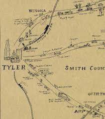 Kilgore Texas Map Map Of East Texas Oil Field U2013 Save Texas History U2013 Medium