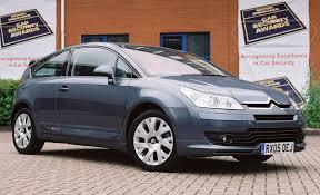 short term car lease europe citroen citroën c4 coupé 2004 2010 features equipment and accessories