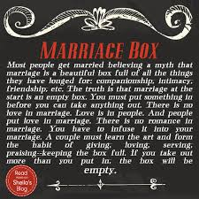great wedding sayings marriage box marriage box empty and box