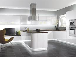 Kitchen Chairs  Furniture Modern White Kitchen Cabinets And - Contemporary white kitchen cabinets