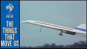 first airplane ever made concorde u0027s first flight 1969 youtube