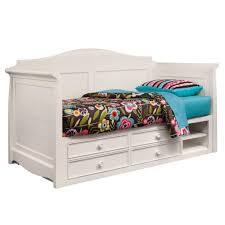 daybeds with storage hannah white twin daybed with storage