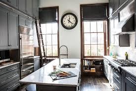Kitchen Cabinets With Ladder Rail Design Ideas - Kitchen cabinet rails
