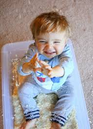 Baby Eating Sand Meme - 8 snow sensory play ideas for babies