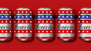 an ameri can of budweiser the surge