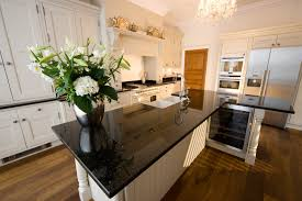 granite kitchen islands appliances l shape kitchen island with black granite kitchen