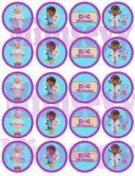 9 images printable doc mcstuffins cupcake toppers doc